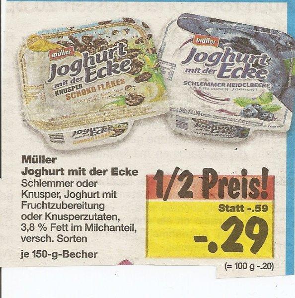 [Lokal? Kaufland Bietigheim-Biss.] Müller Joghurt mit der Ecke -50% für nur 0,29€!!!