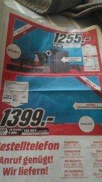 [Lokal Media Markt] Philips 65 PFS 6659 für 1.399€ bzw Sony Kdl 60 W 605 B Inkl ps4 für 1.255€!!
