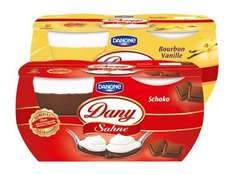 [HIT BUNDESWEIT] 4x Danone Dany Sahne 80g/115g Do-Sa.