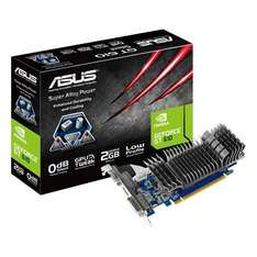 Asus Gra­fik­karte Nvi­dia GeForce GT610 Silent 2 GB DDR3-RAM PCIe x16 DVI, VGA, HDMI für 31,46 € @Amazon.co.uk