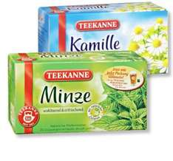 [offline Edeka Hessenring ] Teekanne 20 Teebeutel, diverse Sorten