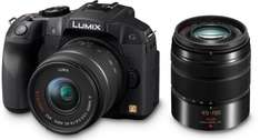 Panasonic Lumix DMC-G6 Kit 14-42 mm + 45-150 mm (DMC-G6W) für 542,29 € @Amazon.it