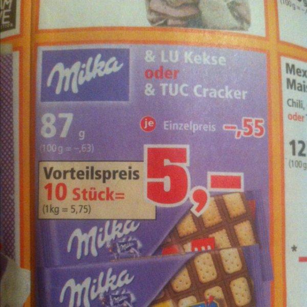 [Thomas Phillips] Milka LU Kekse oder Milka TUC Cracker