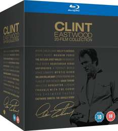 [amazon.uk] Clint Eastwood 20-Film Collection [Blu-ray] inkl. Vsk für ca.51 €