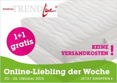 2 Badenia Trendline Kaltschaummatratzen BT190 KS 90x200 cm  zum Preis von einer - versandkostenfrei bei @Mömax