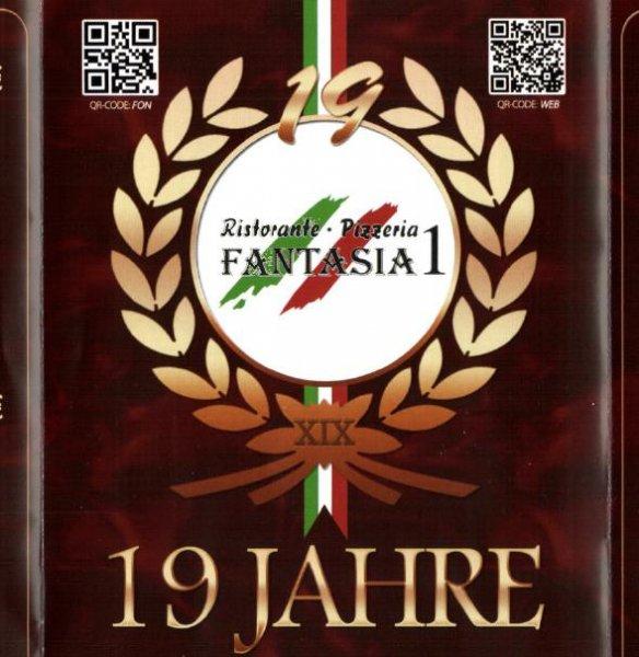 [Lokal Offenbach] Pizzeria Fantasia I; Jübiläumsangebot: Alle Gerichte 3,90€