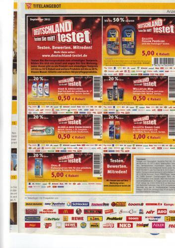 Gillette Proglide Power inkl. 2 Klingen 4,95€ bei Toom, dm, real, rewe, ...