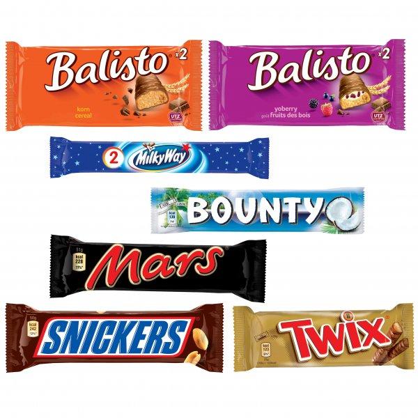 [06711 THEIßEN] Globus: Mars/Snickers/Twix/Bounty/Milky Way/Balisto 5-9 Stk. für 0,99€