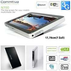Commtiva N700 (=Viewsonic ViewPad 7) Android 2.2 Multi-Touch Tablet @IBOOD für ca 140.- €