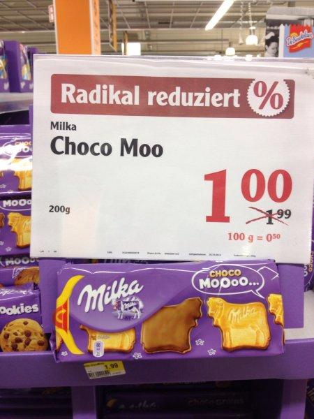 Milka CHOCO Moooo... 1 Euro statt 1,99 Euro- Globus Forchheim