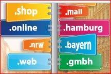 Aktionspresie für 200 Neue Top Level Domains - sichere deine ab 89 Cent bei Strato!