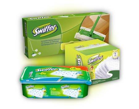 MeinPaket - Swiffer Starter-Set + 36 Wischtücher Trocken + 24 Wet-Wischtücher für 18,90 (inkl Versand)