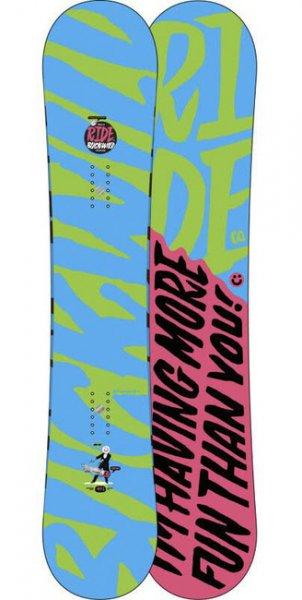 Snowboard Buckwild 156 wide von Ride aus 13/14 für 250 statt 479 Euro