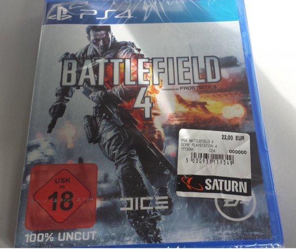 lokal Berlin Saturn Battlefield 4 PS4 und XBOX One