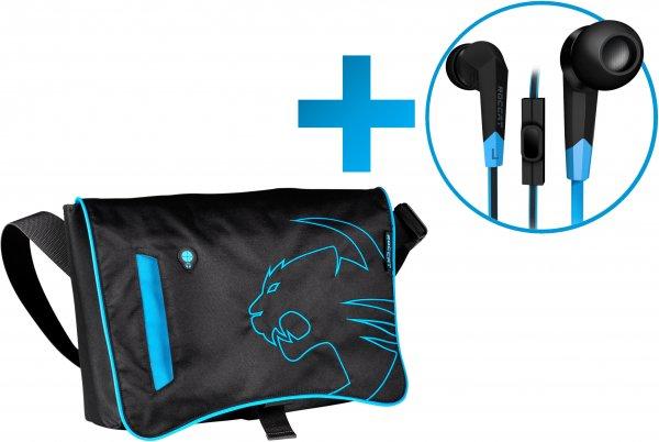 ROCCAT Into Tasche inkl. Syva In-Ear Headset gratis - statt 90,25 € für 64,99 - Ersparnis 28% durch Gutschein