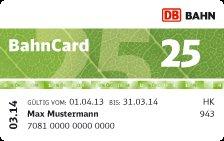 Bahncard 25, jetzt nur 20€ für Studenten, Schüler, Azubis und Senioren