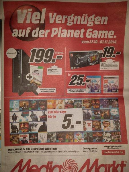 Media Markt Berlin Borsighallen - 250 Blu-Rays für je 5,-