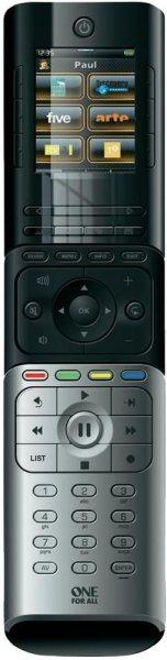 OneForAll Fernbedienung URC 8602 Xsight Colour, 18 Geräte [voelkner]