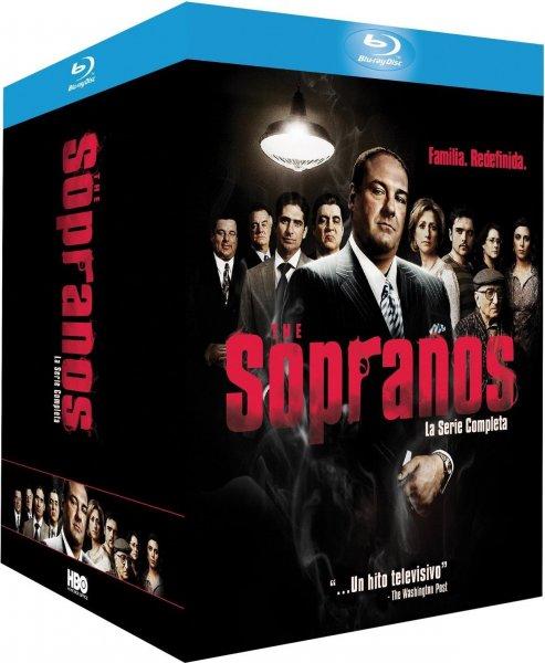 Die Sopranos - Die komplette Serie BLU-RAY (Amazon Spanien inkl. deutscher Tonspur !!)