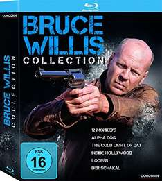 [Amazon Prime] Bruce Willis Collection: 6 x Blu-Ray für 19,99 Euro