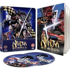 (UK) Ninja Scroll Steelbook Blu-ray & DVD für 11.55€ @ Zavvi