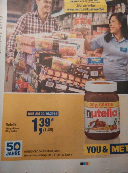 1/2 kg Nutella Metro