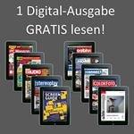 1 Digital-Ausgabe gratis lesen (verschiedene Zeitschriften: video, connected home, connect..)