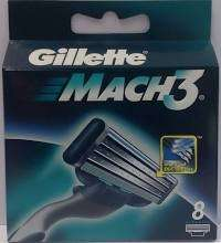 Gilette Mach 3 Klingen 8er Pack für 13,99 - 16er Pack für 25,99