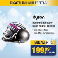 NUR AM 24.10. // [METRO] - Dyson DC 37 Animal Turbine - 237,99€ brutto