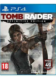 Tomb Raider Definitive Edition (PS4) für 25,50€ @Base.com