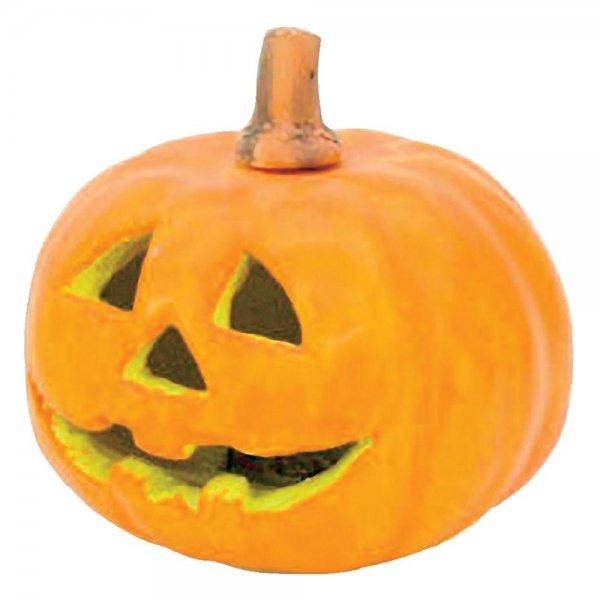Halloween-Kürbis mit LED-Beleuchtung