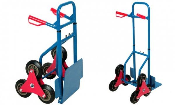Again: Transport-Sackkarre mit klappbarer Ladeschaufel oder Treppen-Sackkarre  Groupon