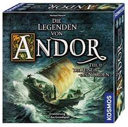 Die Legenden von Andor - Teil II Die Reise in den Norden - Erweiterung für 28,95€ vorbestellen