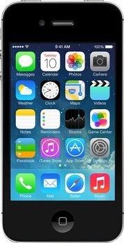 Apple iPhone 4S 16GB schwarz + Panzer-Displayschutzfolie [B-Ware]