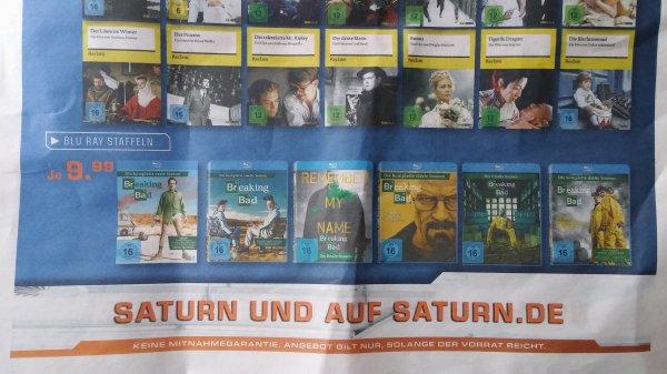 (Lokal Stuttgart) Blu-ray alle Breaking Bad Staffeln für je 9,99
