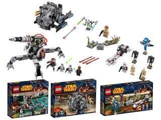 """[LEGO] """"Star Wars 3 in 1"""" (66495) für 58,65 [real]"""