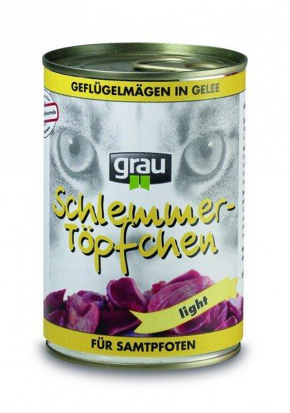 [napfhelden.de] 10%-15% Rabatt auf gutes Katzenfutter z.B. Grau Schlemmertöpfchen 400g