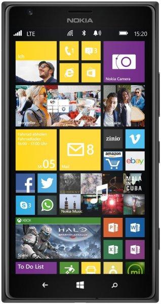 Nokia Lumia 1520 Smartphone 32 GB (15,2 cm (6,0 Zoll) IPS FULL HD,20 Megapixel