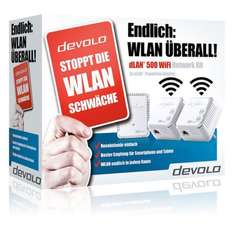 Devolo dLAN 500 WiFi Network Kit Powerline-Adapter @ebay 99€