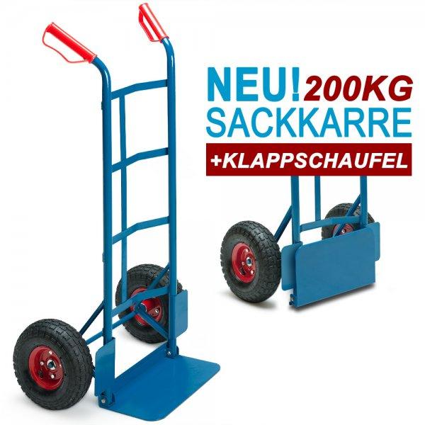 Ebay WoW: Stabile Handkarre - luftbereift - bis 200 kg belastbar