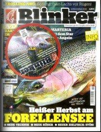 Jahresabo der Zeitschrift Blinker für effektiv 7,40€ durch 55€ hohen Universalgutschein