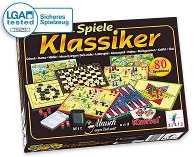 [Lokal/Aldi-Süd] Familien-Spielesammlung für 8,99€ ab 27.10. (vermutlich Schmidt Spiele 49120 - Klassiker Spielesammlung)