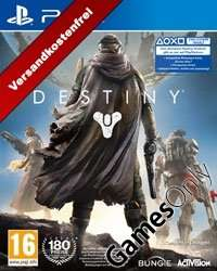 Destiny PS4 (Pegi deutsch) + Boni, nur heute @gamesonly.at