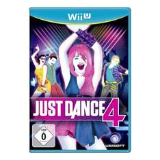 Just Dance 4 (Wii U) für 4,29€ @Amazon Prime