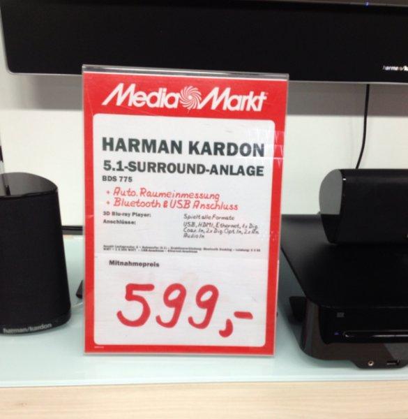 [lokal Media Markt bielefeld] Harman Kardon BDS 775 (idealo 899€)