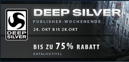 [Steam] Deep Silver Publisher Weekend u.a. mit Metro Redux, Saints Row IV; Risen 3