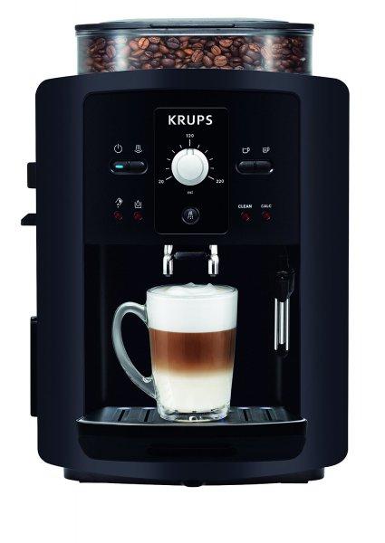 eBay WoW: Krups EA 8000 Espresso Kaffee Cappuccino Vollautomat Kaffeemaschine Schwarz @ 239,99 inkl. Versand
