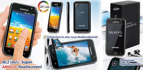 Samsung S I9000 mit Android 2.3 diesmal bei Aldi SÜD