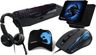 ROCCAT Produktbundle aus Maus, Tastatur, Mauspad, Headset, Cap »PremiumSet KONE XTD ISKU FX KULO ALUMIC« 199 € (statt ca. 270 €) @Otto.de