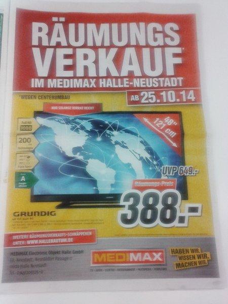 [Lokal : Halle-Neustadt] Räumungsverkauf im MediMax ab 25.10. - Grundig 48 VLE 5421 B